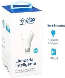 Título do anúncio: Lâmpada Inteligente I2GO E27 RGB - Dimerizável 10W Smart Lamp Wi-Fi