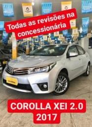 Título do anúncio: Toyota Corolla XEI 2.0 2017 ( Todas as Revisões na Concessionária )