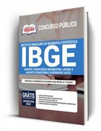 Concurso IBGE 2021 - Agentes Censitários - Apostila Preparatória