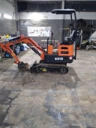 Título do anúncio: Vendo mini escavadeira semax SX 10