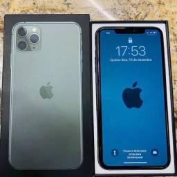 iPhone 11 Pro Max 64GB na cor verde meia noite Super novo