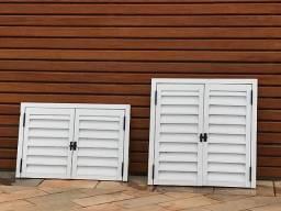 Duas portas alumínio em ótimo estado