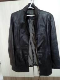 Jaqueta de couro zerada