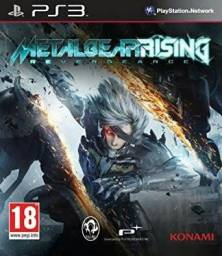 Metal Gear Rising Revengance - Seminovo (PS3)