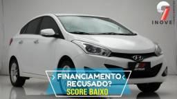 Hb20 Sedan Score Baixo Pequena Entrada - 2014