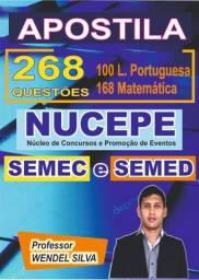 Apostilha Semec e semed 268 questões