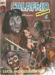 Revista em Quadrinhos - Calafrio Especial - Ed. 4 - D-Arte - 1990