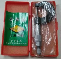 Micrômetro Externo De 0 Á 25mm C/ Estojo - Leitura De 0,01mm