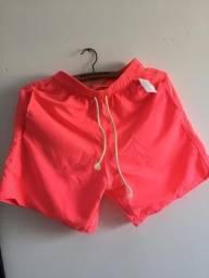 Shorts mauricinhos neons
