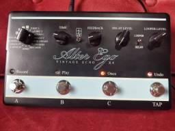 Pedal Delay e Looper Alter Ego X4 TC Electronic