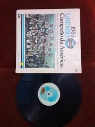 """Disco grêmio campeão da america 1983 """"rádio gaucha"""""""