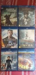 Vários títulos em blu-ray 3d