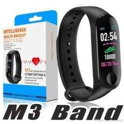Relógio Inteligente Pulseira Smartband M3 Nesho Pressão Arterial