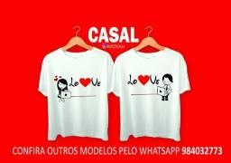 Kit Camisa Casal