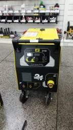 Máquina de Solda Mig Esab Compact 215i monofásica