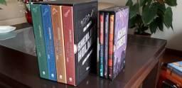 Livros Sherlock Holmes Obra Completa (Box 4 Volumes) + Agatha Christie (box 3 livros)