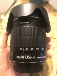 Canon 18-135mm IS- OPORTUNIDADE