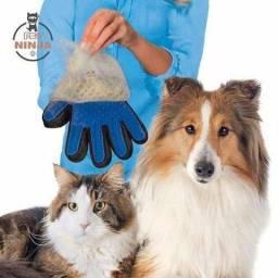 Luva para tirar pelos de gato ou cachorro