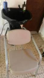 Cadeira com lavatorio