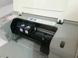 Cartuchos HP com tinta, impressora brinde