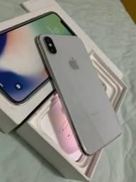 IPhone X 64gb Silver Anatel