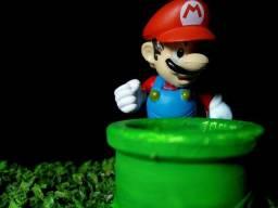 Bonecos Mario