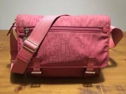 Bolsa original marca Victor Hugo cor rosa