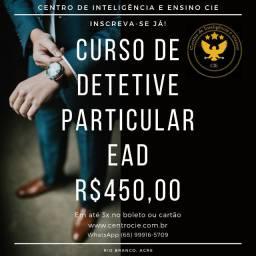 Curso de Detetive Particular EAD 100% Online