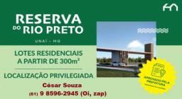 Em Unaí temos o loteamento Reserva do rio Preto aproveite o preços de lançamento