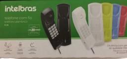Telefone Com Fio Gôndola Intelbras TC20 - Preto