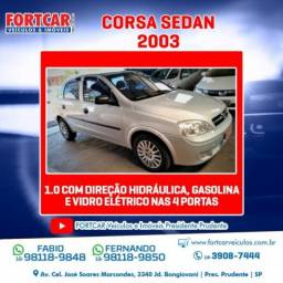 Chevrolet corsa sedan 2003 1.0 mpfi sedan 8v gasolina 4p manual