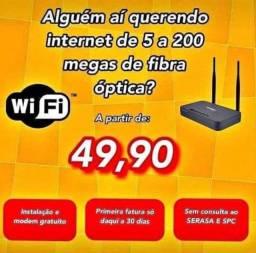 Wifi fi fibra net optica