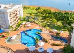 Apartamento 1 quarto mobiliado - Cota no Privê Marina Flat e Náutica -Caldas Novas