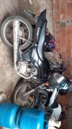 Vendo moto fan vareta 2008 doc em dias - 2008