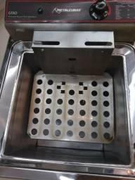 Vendo Fritadeira elétrica água e óleo, cesto duplo