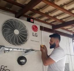 Instalação de ar condicionado com Garantia