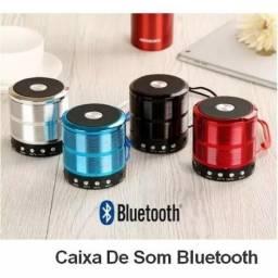 Mini Caixinha de Som Portátil Bluetooth Mp3 Fm Sd Usb WS887