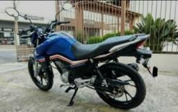 Titan 160 azul - 2019