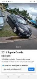 Carro corola - 2011