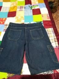 Bermuda jeans masculina (NOVA)