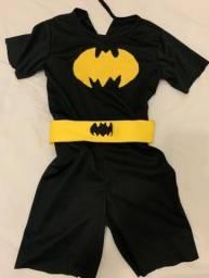 Fantasia Batman 4-5 anos