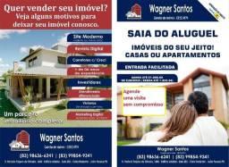 Casa bem localizada em Condomínio Fechado no Bairro de Intermares Cabedelo-PB