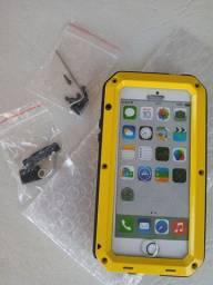 Capa Armadura de metal Parafusada pra iPhone 5S/ 5/ SE. Vendo Barato