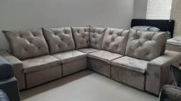 Sofá Sublime Retrátil e Reclinável3,10m x 3,10m