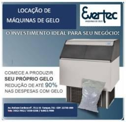 Máquinas de gelo - Locação Rio de Janeiro