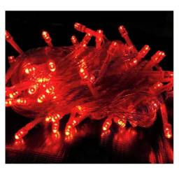 Título do anúncio: Pisca Pisca Natal Led 100 Lâmpadas l Vermelho 8 funções
