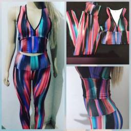 Conjunto fitness Tie dye