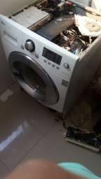 Concerto de lavadora  lava e seca de qualquer marca.