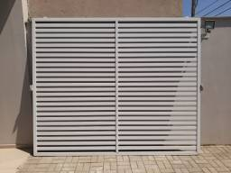 Portão Garagem Aluminio