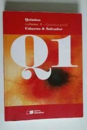 Título do anúncio: Química Volume 1 - Química Geral - Usberco e Salvador.